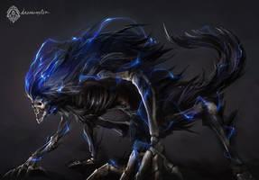 Bloodborne Fanart - Dark Beast Paarl