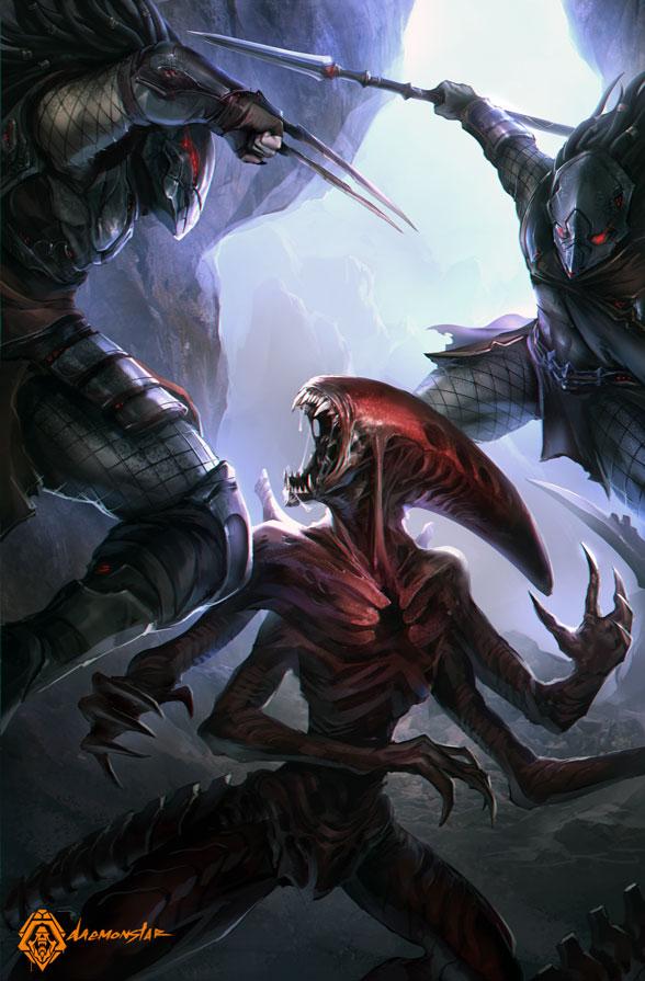 HuntingRed by daemonstar