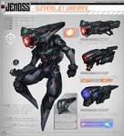 Warframe Fan Concept - Jenoss