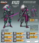 Overwatch Fan Concept - Hero - Kyuzo