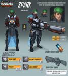 Overwatch Fan Concept - Hero - Spark