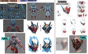 Warframe Tennogen Concepts - led2012 + daemonstar by daemonstar