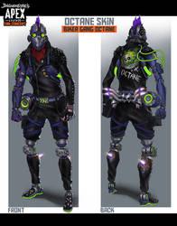 Apex Legends Fan Concept - Biker Gang Octane Skin