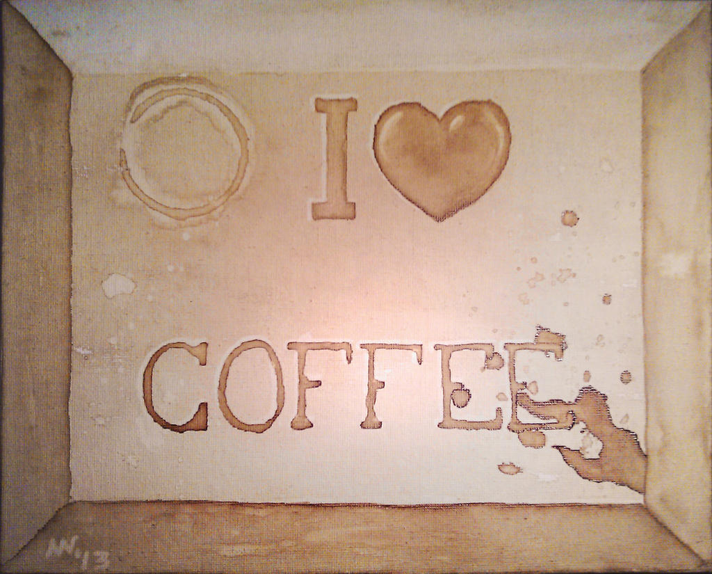 Coffee Painting by Grumzz