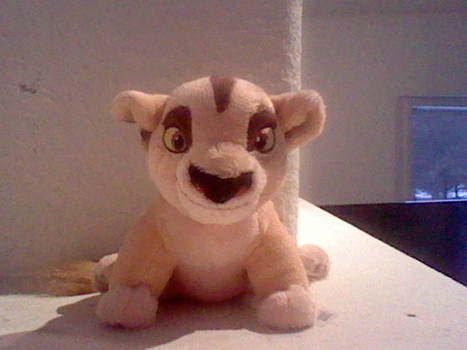 Lion King Baby Zira Plush