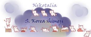 Nekotalia: South Korea shimeji by uncut-adventure