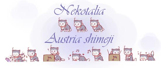 Nekotalia: Austria shimeji by uncut-adventure