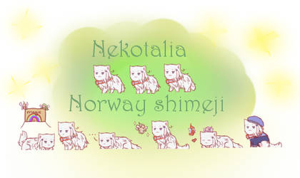 Nekotalia: Norway shimeji by uncut-adventure