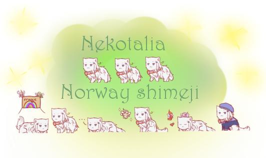 Nekotalia: Norway shimeji by uncut-adventure