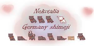 Nekotalia: Germany shimeji by uncut-adventure