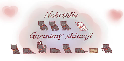 Nekotalia: Germany shimeji