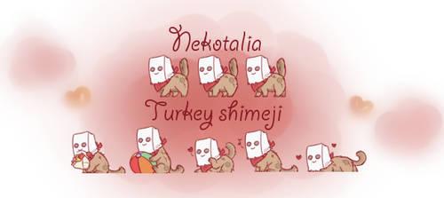 Nekotalia: Turkey shimeji