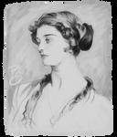 Sargent Sketch 3: Mrs Horace Webber, 1911
