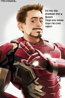 Iron Man Tony Stark Meme 101 by Asunakawaiiyuuki