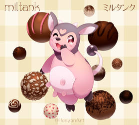 Miltank and Chocolate Truffles