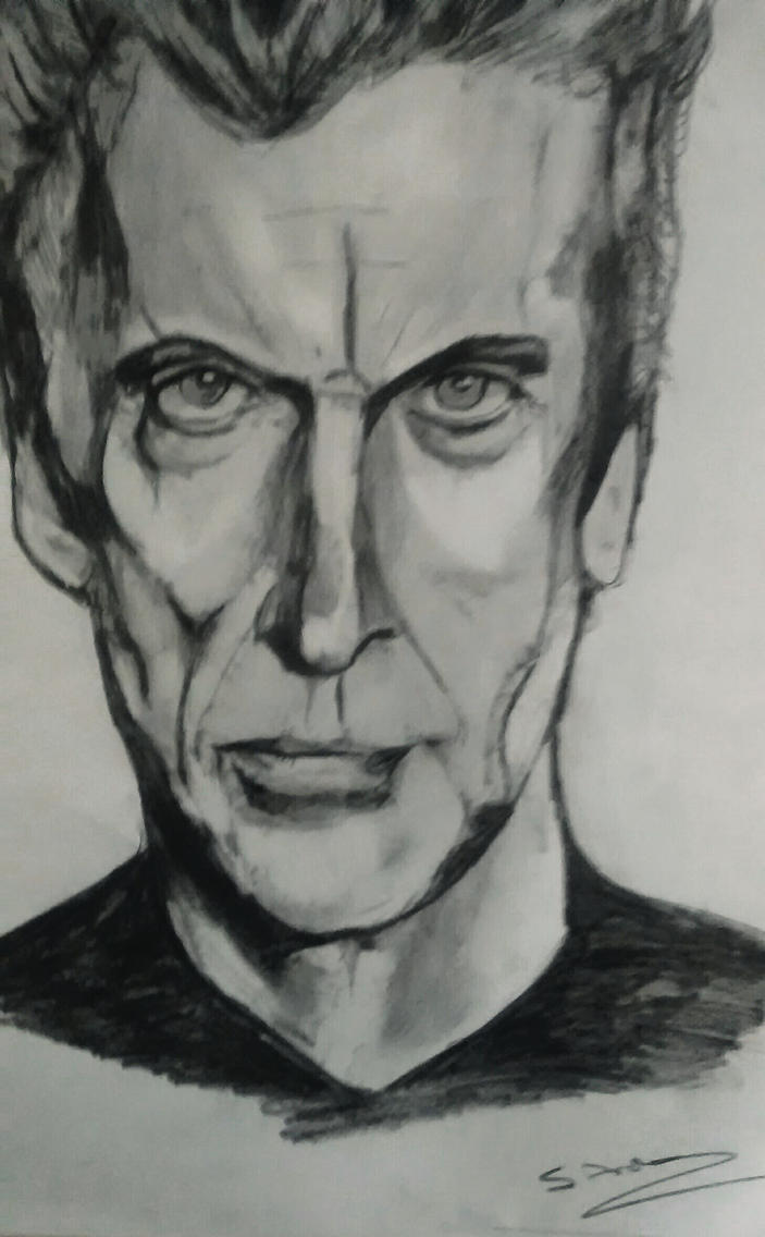 Peter Capaldi Dr.Who by ThirdEyebaby