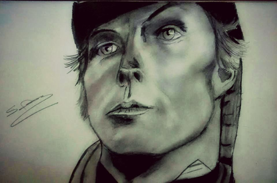 Jamie Bamber Archie portrait by ThirdEyebaby