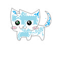MY CAT OC BASE BY BRONZEFISH678 by archae0pteryx
