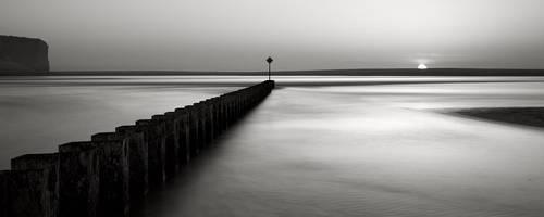 Pier and cliff : Study II by pedroinacio