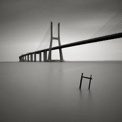 Vasco  da Gama bridge by pedroinacio