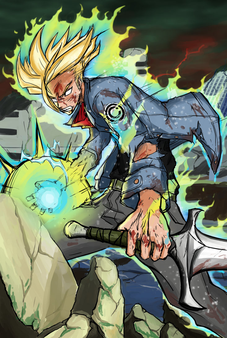 Trunks DB Super! by FireDrawing