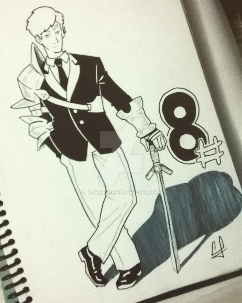 modern man's suit by k-yoh