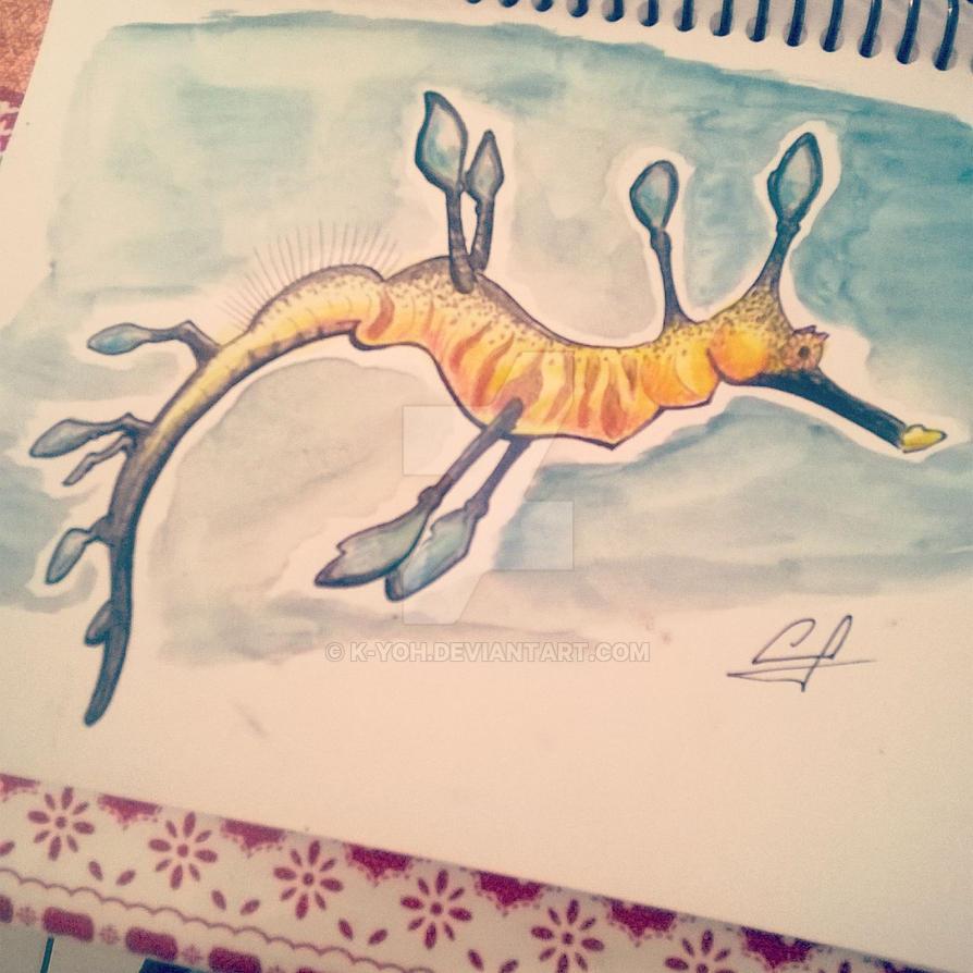 Sea dragon by k-yoh