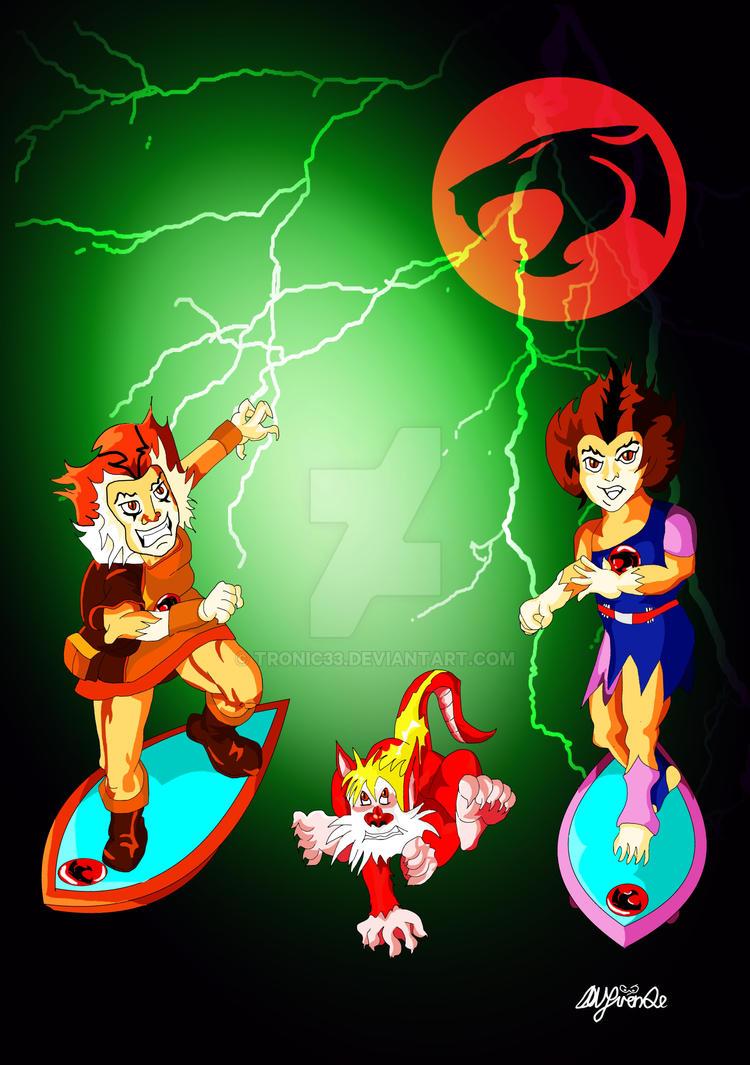 Thunderkits Thundercats by Tronic33