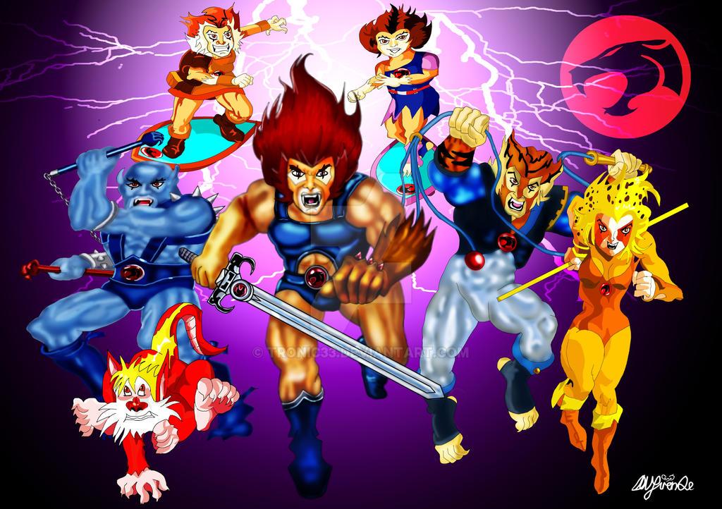 Thundercats by Tronic33