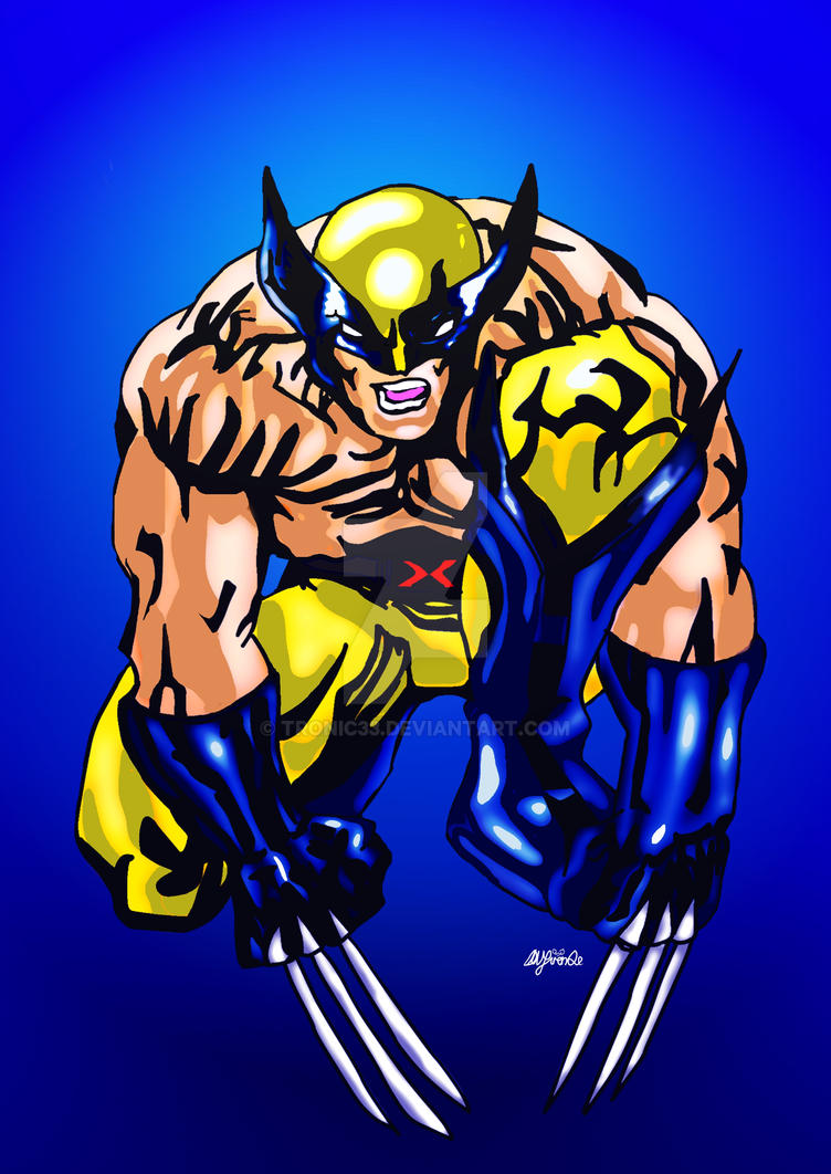 Wolverine12b by Tronic33