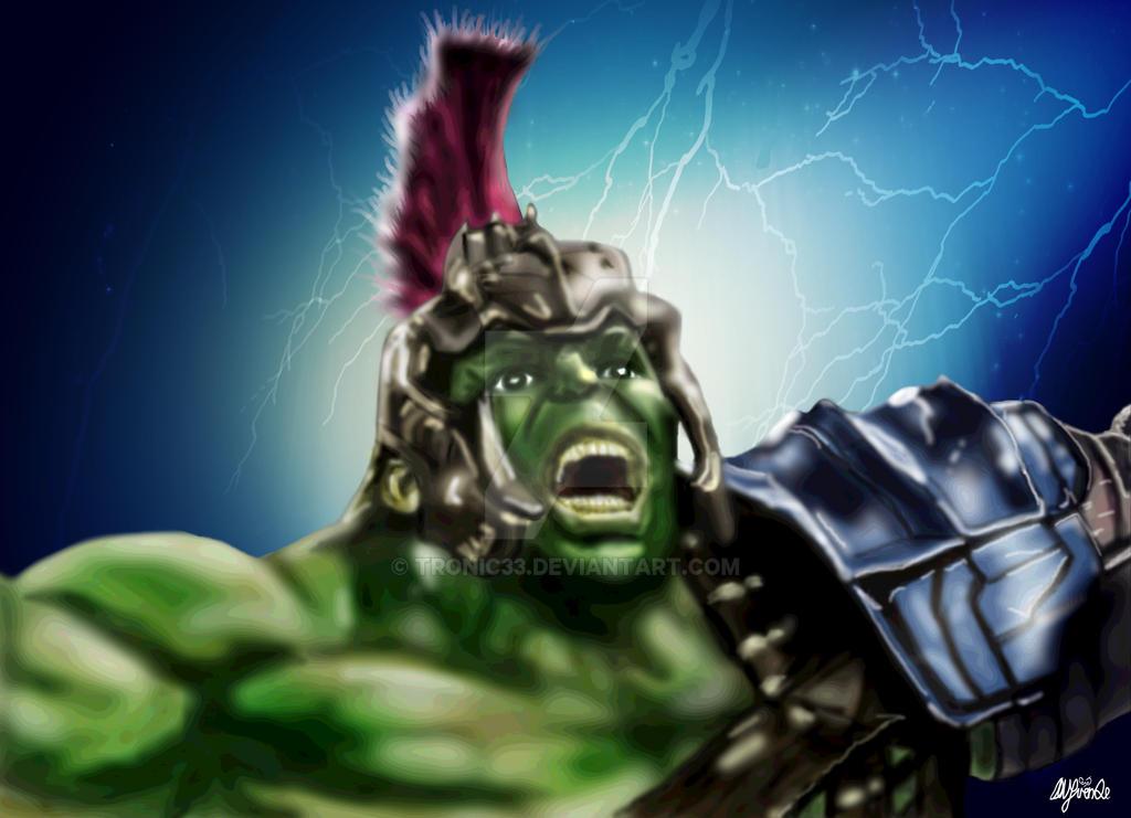 Hulk Gladiator by Tronic33