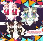 [CLOSED] Kemonomimi set