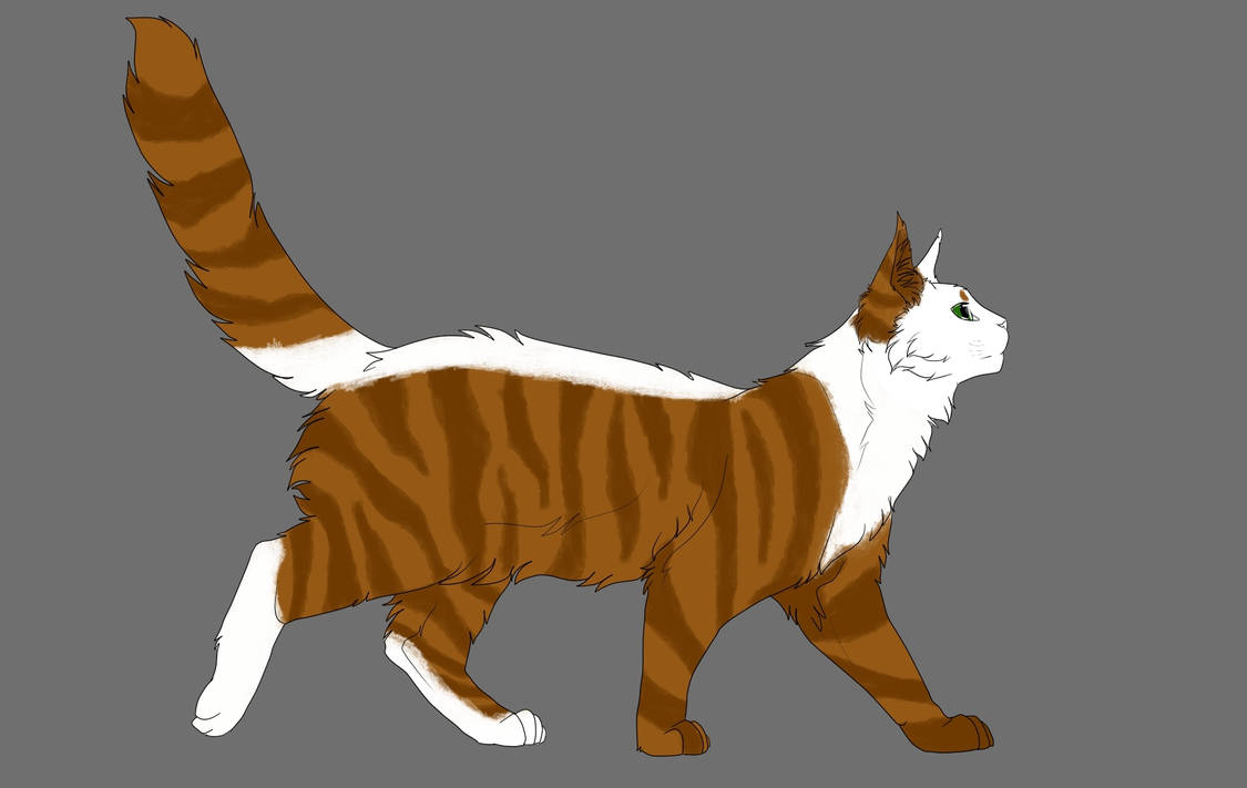 New look for my catsona by Rofa1309