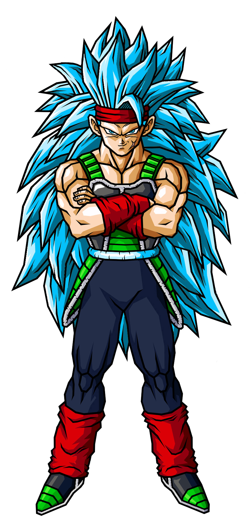 Bardock Ssjg3 by cossiokpo on DeviantArt