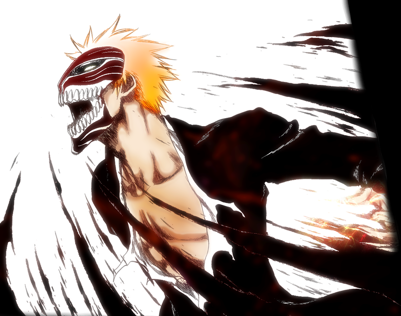 Ichigo Hollow form by Mados on DeviantArt