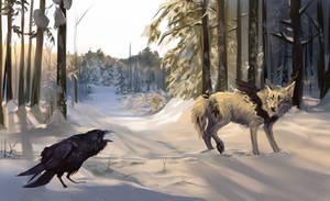 Raven Call by Innali