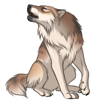 Blonde Wolf by Innali