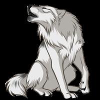 White Wolf by Innali