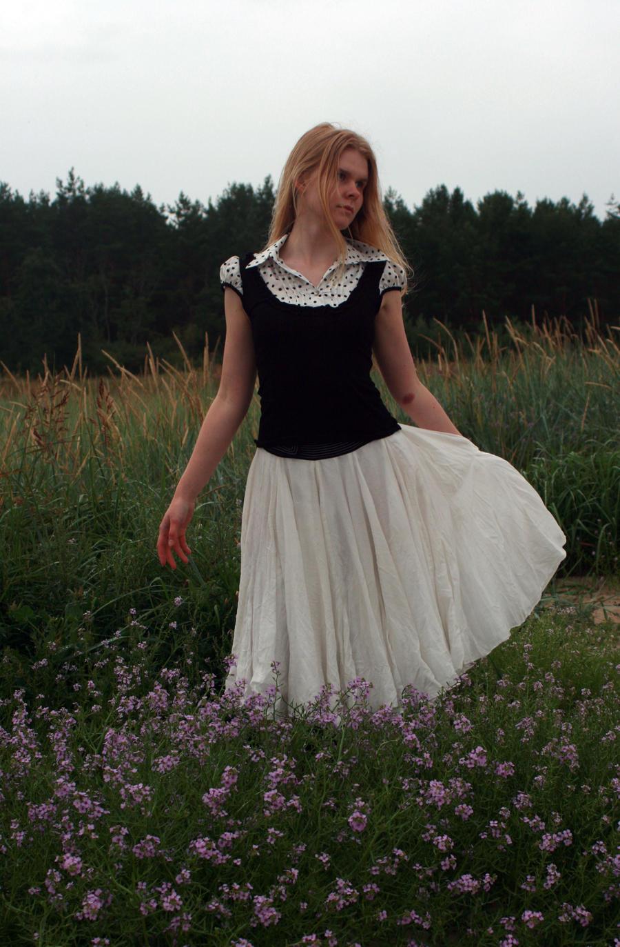 On Flowers 2 by Iardacil-stock