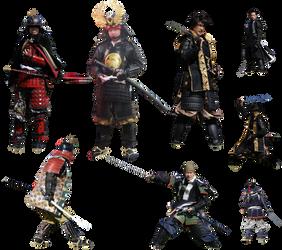 Samurais- cutout