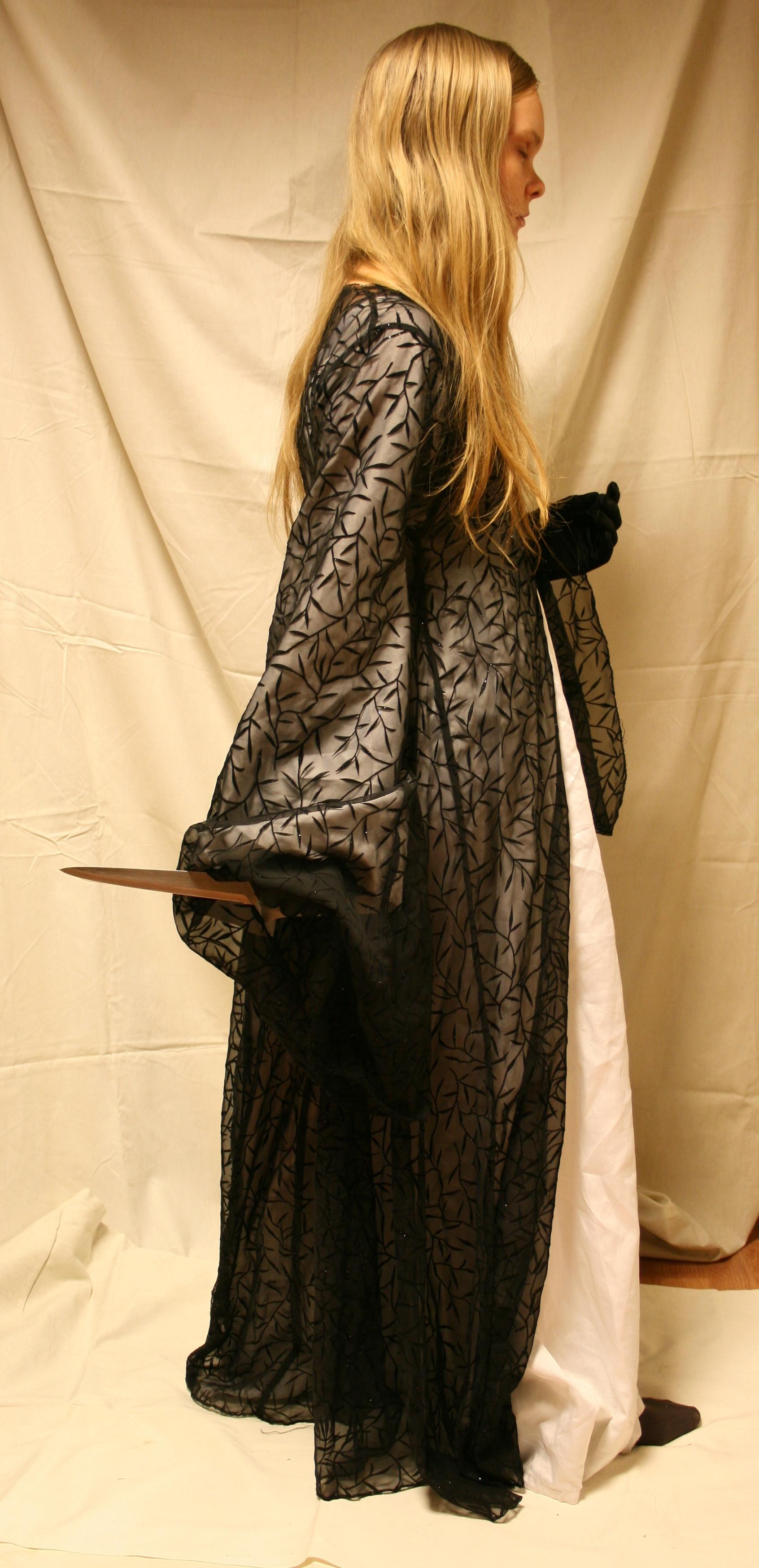 Ivonne with knife 5 by Iardacil-stock