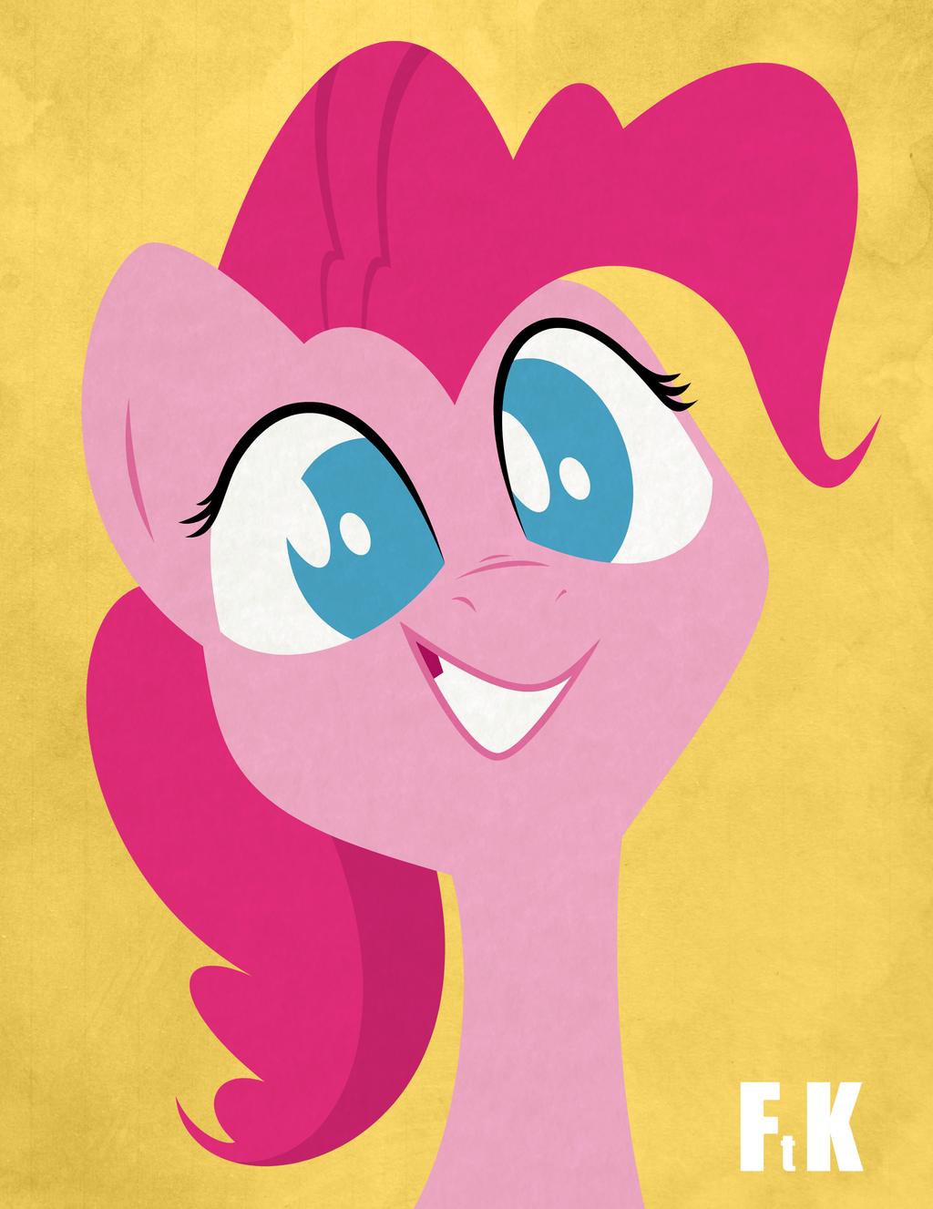 Pinkie Pie Portraiture by FluttershytheKind