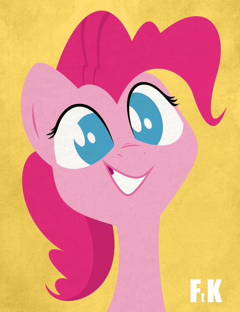 Pinkie Pie Portraiture by FluttershytheKind