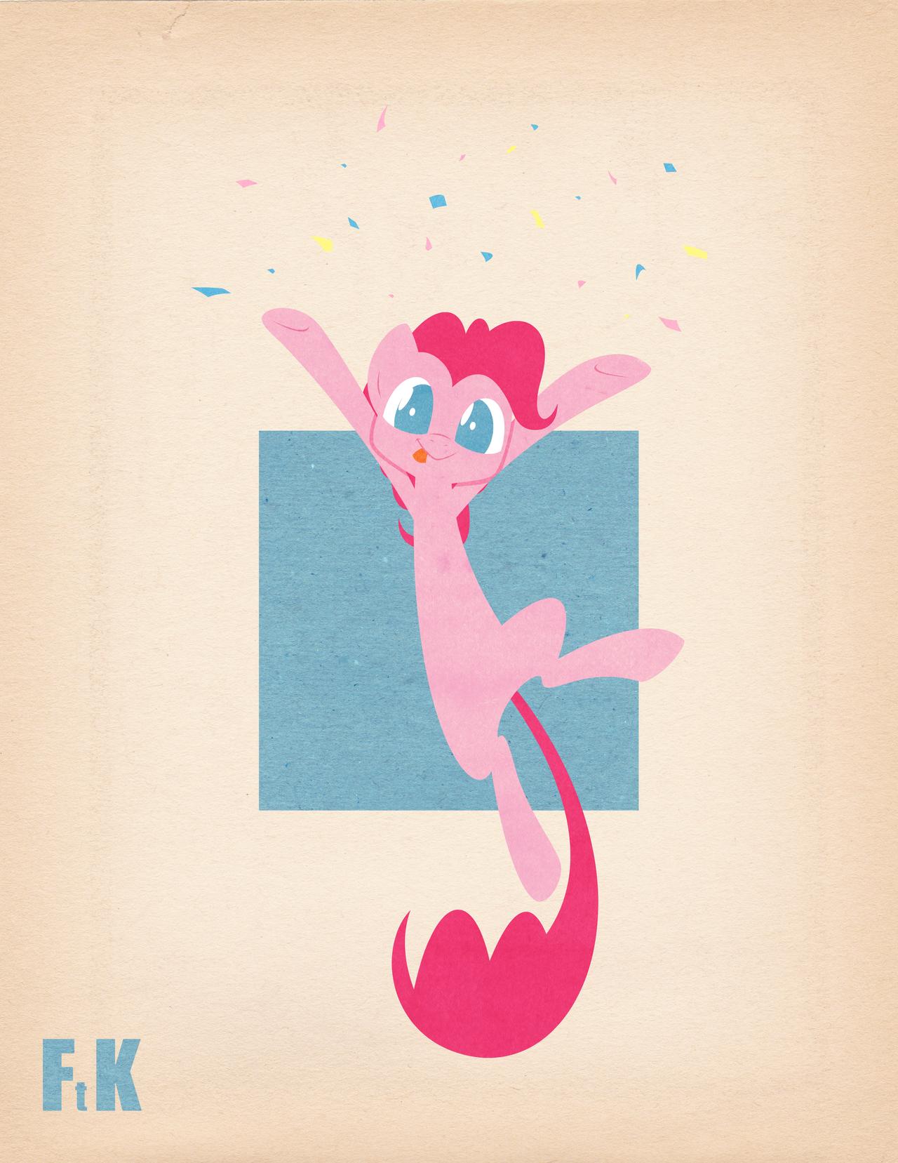 Pinkie Pie Vignette by FluttershytheKind