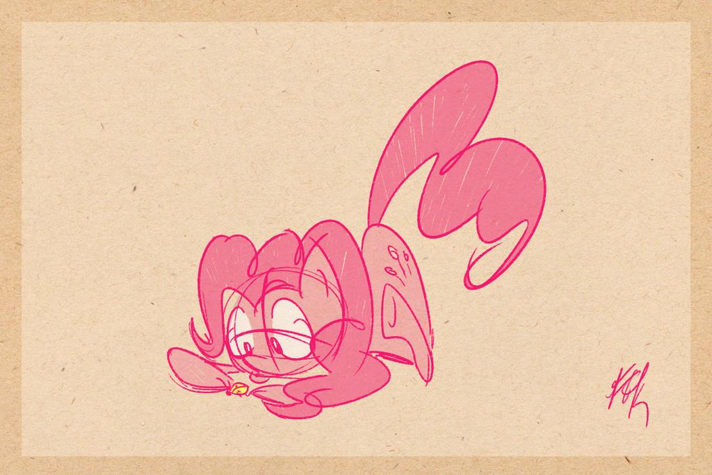 Pinkie Finds a Ladybug by FluttershytheKind
