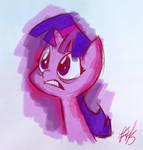 Twilight Sparkle Color Sketch
