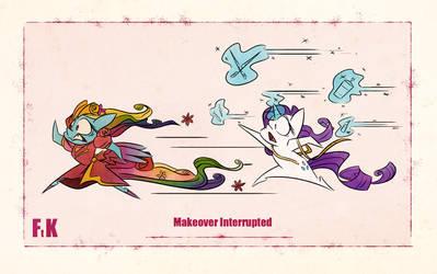 Makeover Interrupted by FluttershytheKind