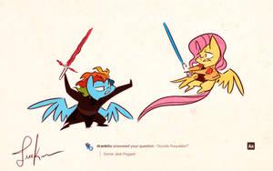Star Wars Pony Request by FluttershytheKind