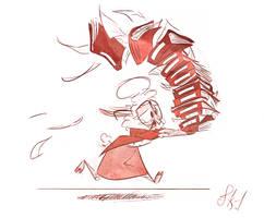 Bellwether Action Sketch by FluttershytheKind