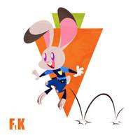 Judy Hopps Hops by FluttershytheKind